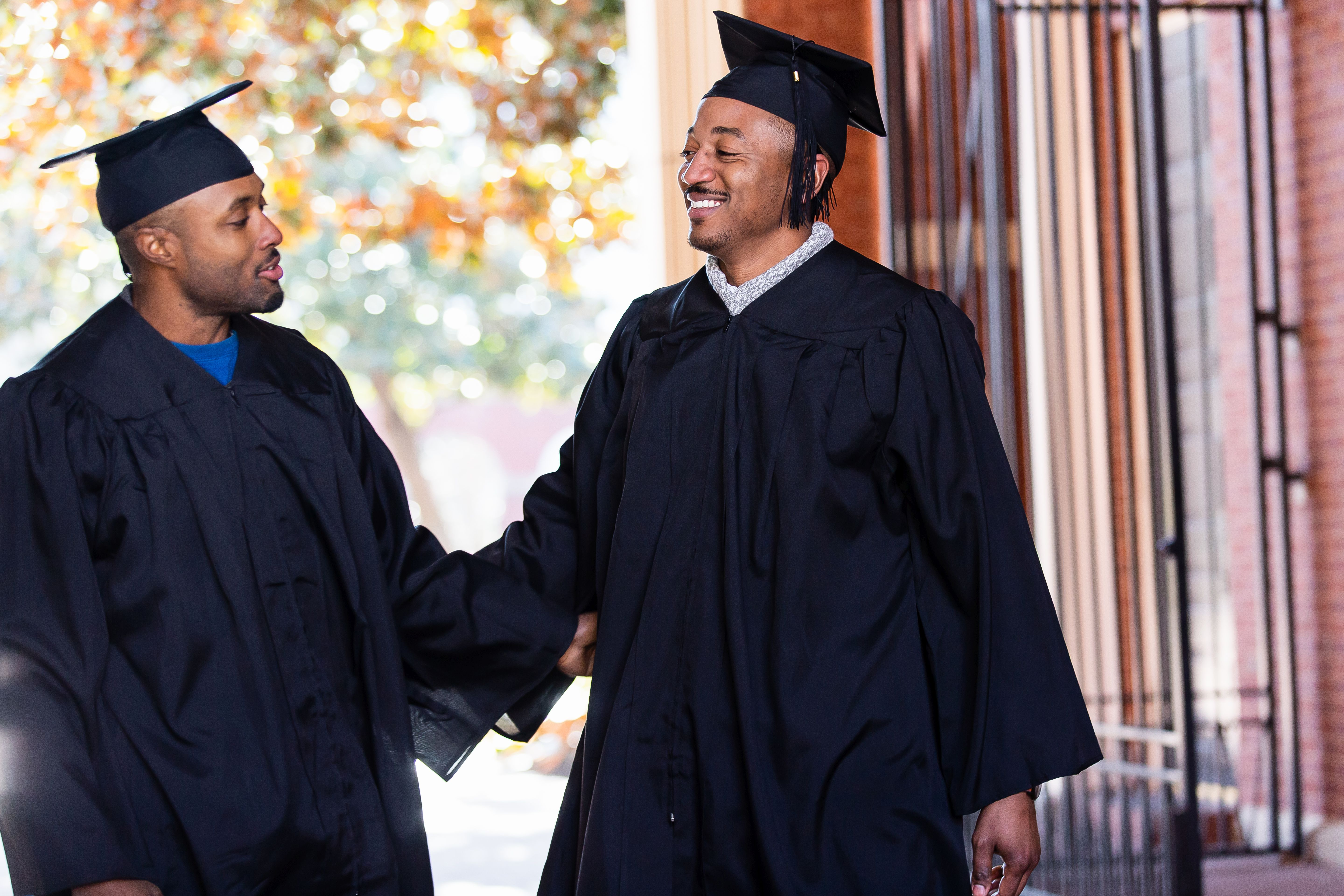 Two SouthEast Bank Scholars college students