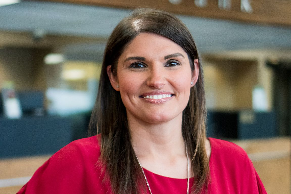 SouthEast Bank Spring City branch supervisor Lacey Mosley