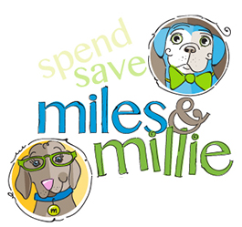 Miles & Millie logo from SouthEast Bank