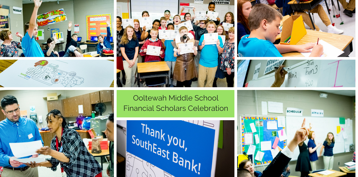 Ooltewah Middle School Financial Scholars Celebration
